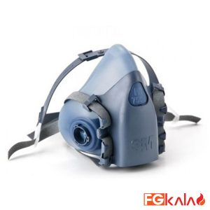 Half Face Respiratory Mask Double Filter 3M Model 7502
