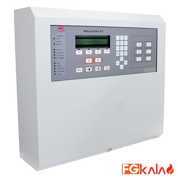 LFS Brand Fire Control Panel Solution F1-6 Standard configuration for 2-6 loops and max 2