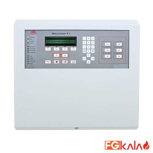 LFS Brand Fire Control Panel Solution F1-6 Standard configuration for 2-6 loops and max 4
