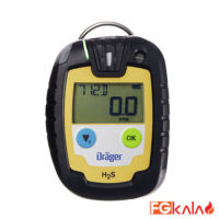 Drager Brand Single-Gas Detection Device Model Pac 6000 H2S