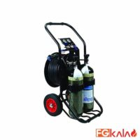 Drager Brand Airline breathing equipment Model PAS Airpack 1 Trolley