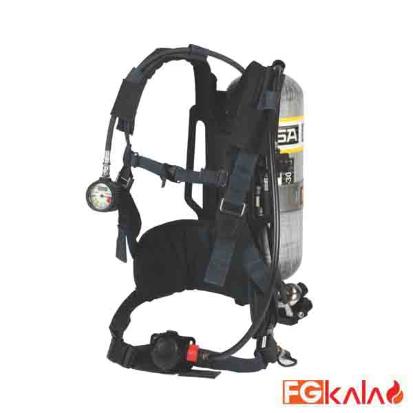MSA Brand Self Contained Breathing Apparatus Model AirHawk II