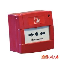 NotiFier Brand Addressable manual call point Model M5A-RP02SG-N026-01