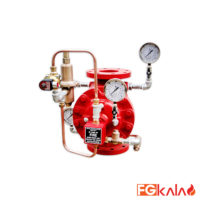 HD Fire Brand Deluge Valve with Pressure Reducing Pilot Trim