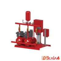 EBITT Brand Fire pumps set model FIREPAK-E21 & FIREPAK-ED21