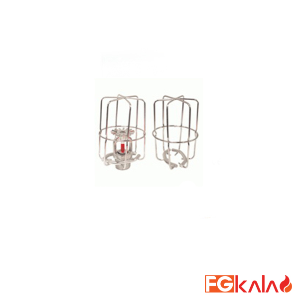 HD Fire Brand SPRINKLER HEAD CAGE CHROME WITH CLIP UNIVERSAL